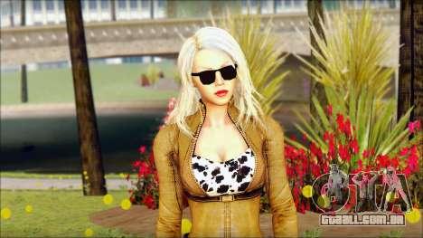 Eva Girl v1 para GTA San Andreas terceira tela