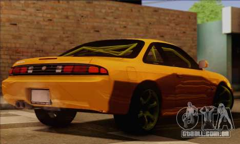 Nissan 200sx Drift Monster Energy para GTA San Andreas esquerda vista