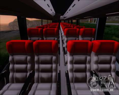 Irizar MQ2547 Five Star 8802 para GTA San Andreas vista superior