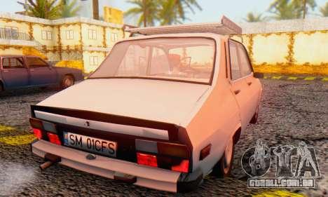 Dacia 1310 TX Stock v1 para GTA San Andreas traseira esquerda vista