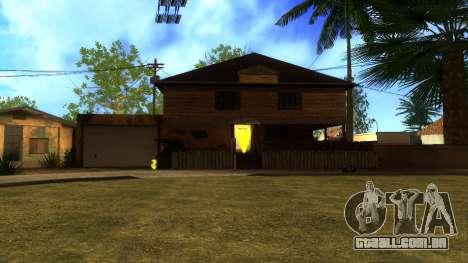 Novas texturas HD casas na grove street v2 para GTA San Andreas