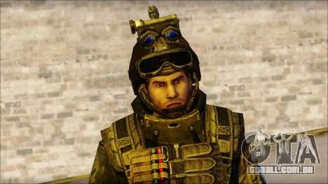 Soldados da UE (AVA) v1 para GTA San Andreas terceira tela