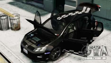 Volkswagen Golf R 2010 MTM Paintjob para GTA 4 vista direita