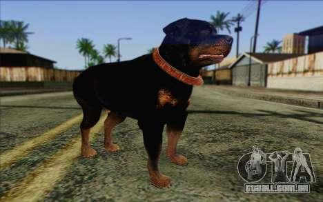 Rottweiler from GTA 5 Skin 3 para GTA San Andreas