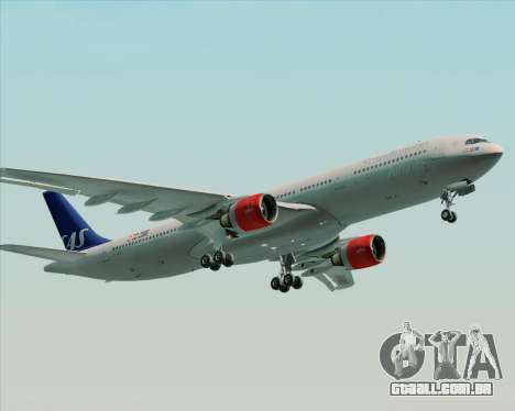 Airbus A330-300 Scandinavian Airlines System. para o motor de GTA San Andreas