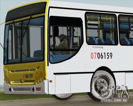 Caio Induscar Apache S21 Volksbus 17-210 Manaus para GTA San Andreas interior