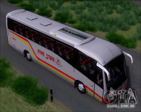 Irizar MQ2547 Five Star 8802 para GTA San Andreas vista interior