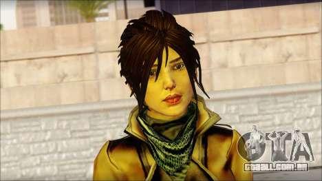 Tomb Raider Skin 2 2013 para GTA San Andreas terceira tela