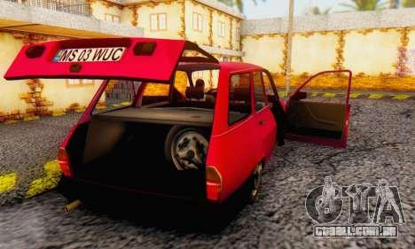 Dacia 1310 Break WUC para GTA San Andreas vista direita