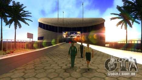 Texturas HD estádio de Las Venturas para GTA San Andreas por diante tela