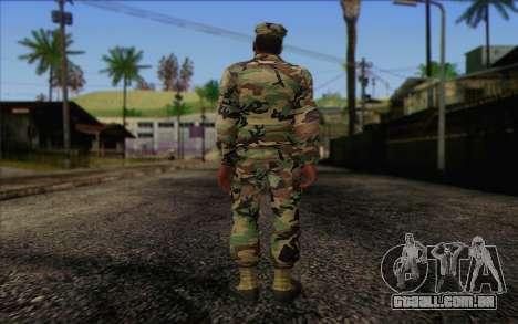 California National Guard Skin 3 para GTA San Andreas segunda tela