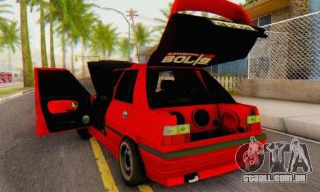 Dacia Super Nova Tuning para GTA San Andreas vista direita