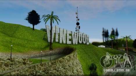 Graphic Unity V4 Final para GTA San Andreas quinto tela