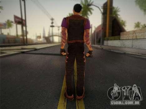 Slim Thug para GTA San Andreas segunda tela