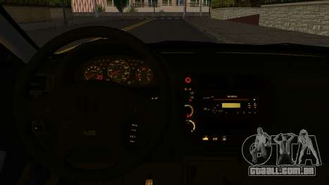 Honda Civic Si 1999 para GTA San Andreas traseira esquerda vista