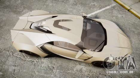 Lykan HyperSport para GTA 4 vista direita
