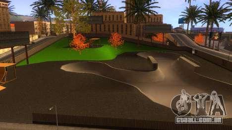 Texturas HD skate Park e hospital V2 para GTA San Andreas décimo tela
