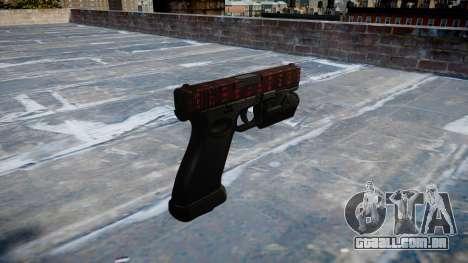 Pistola Glock de 20 a arte da guerra para GTA 4 segundo screenshot