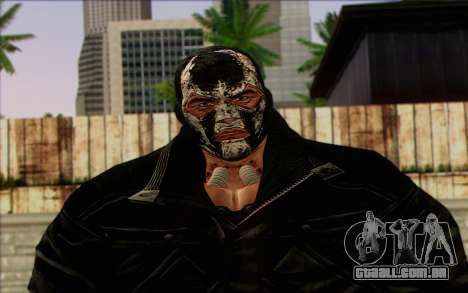 Bane from Batman: Arkham Origins para GTA San Andreas terceira tela