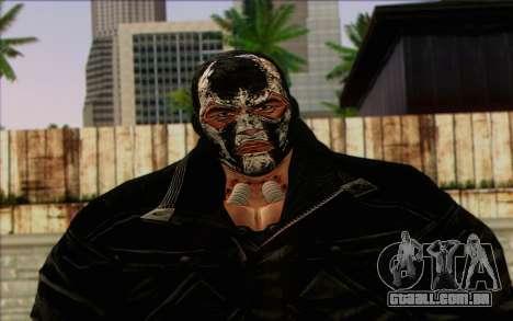 Bane from Batman: Arkham Origins para GTA San Andreas terceira tela