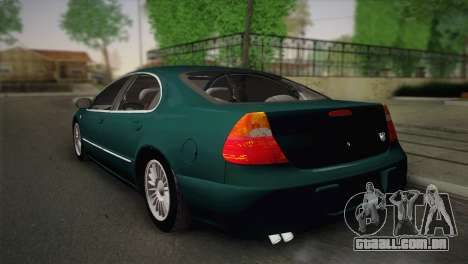 Chrysler 300M para GTA San Andreas esquerda vista