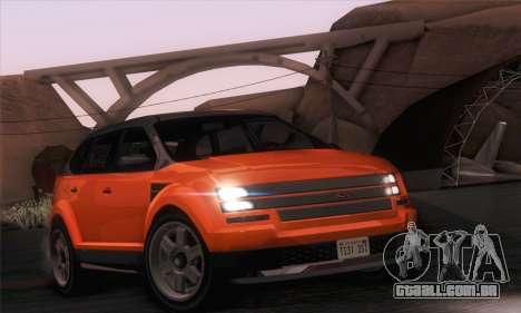 Vapid Radius 1.0 (IVF) para GTA San Andreas