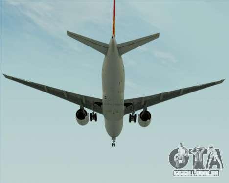 Boeing 777-200ER Air China para GTA San Andreas vista direita