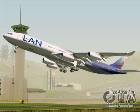 Airbus A340-313 LAN Airlines para GTA San Andreas interior