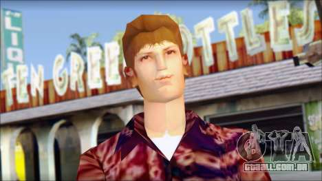 Marty from Back to the Future 1955 para GTA San Andreas terceira tela