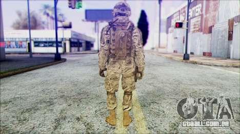 Ranger (CoD: MW2) v1 para GTA San Andreas segunda tela
