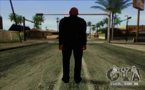 Polícia (GTA 5) Pele 3 para GTA San Andreas segunda tela