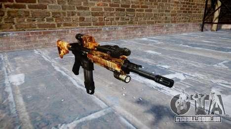 Automatic rifle Colt M4A1 elite para GTA 4