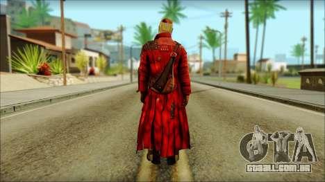 Guardians of the Galaxy Star Lord v2 para GTA San Andreas segunda tela