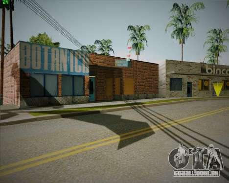 Quebrado loja Binco para GTA San Andreas segunda tela