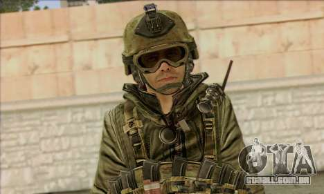 Task Force 141 (CoD: MW 2) Skin 11 para GTA San Andreas terceira tela