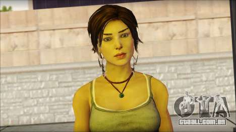 Tomb Raider Skin 11 2013 para GTA San Andreas terceira tela