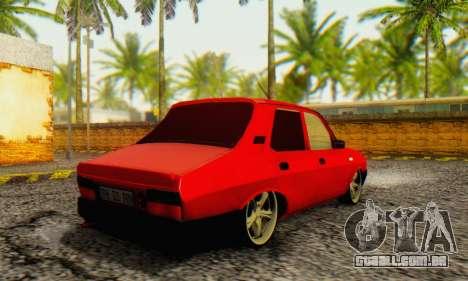 Dacia 1310 TLX PRN v2 para GTA San Andreas traseira esquerda vista
