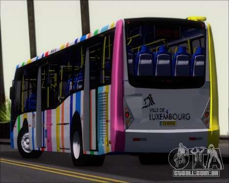 Caio Millennium II Volksbus 17-240 para GTA San Andreas vista superior