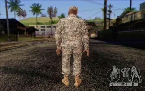 California National Guard Skin 4 para GTA San Andreas segunda tela