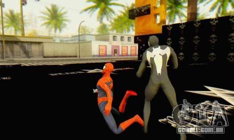 Skin The Amazing Spider Man 2 - Molecula Estable para GTA San Andreas quinto tela