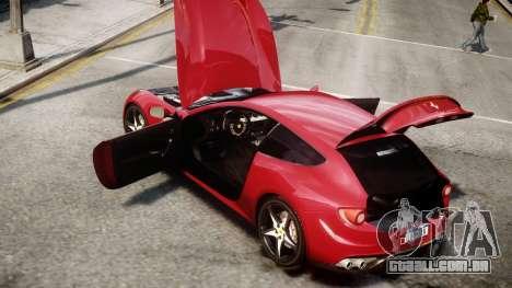 Ferrari FF 2011 v1.5 para GTA 4 vista direita