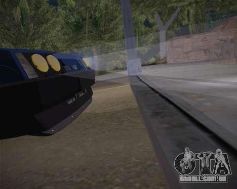 ВАЗ 2109 Baixa Clássico para vista lateral GTA San Andreas