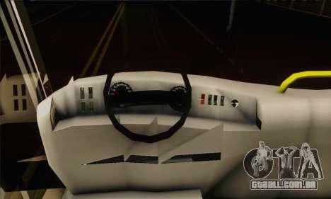 Volvo Lasta Bus para GTA San Andreas vista direita