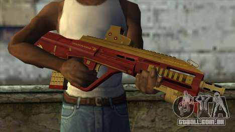 AUG A3 from PointBlank v1 para GTA San Andreas terceira tela