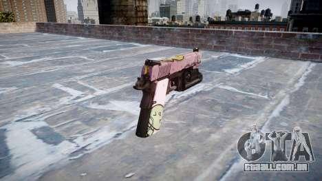 Arma Kimber 1911 Kawaii para GTA 4 segundo screenshot