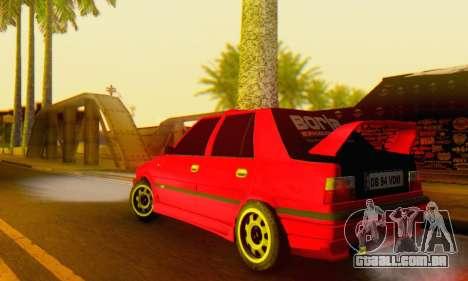 Dacia Super Nova Tuning para GTA San Andreas traseira esquerda vista