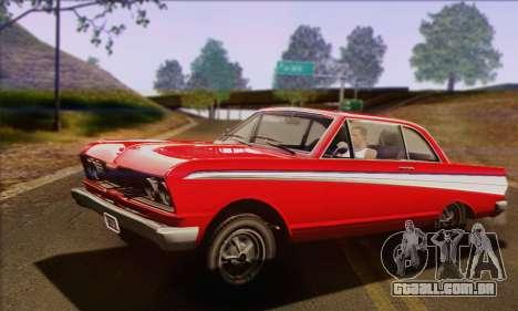 GTA V Blade para GTA San Andreas vista direita