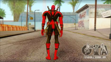 Ultimate Deadpool The Game Cable para GTA San Andreas segunda tela