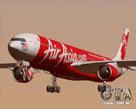 Airbus A330-300 Air Asia X para GTA San Andreas