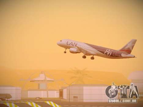 Airbus A320-214 LAN Airlines 80 Years para GTA San Andreas